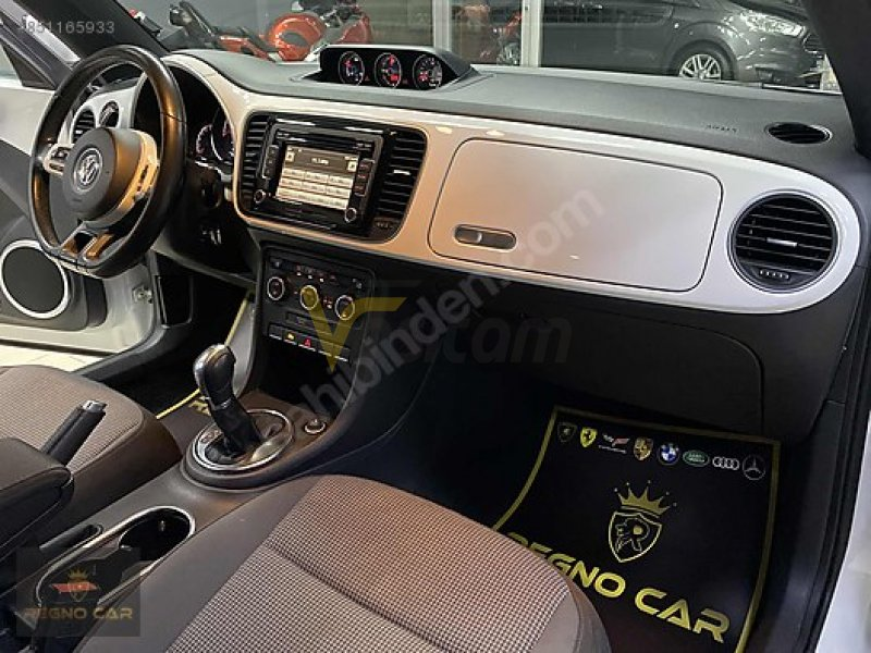 -REGNO CAR-2014 ORJINAL WW BEETLE 1.4 TSİ DESİGN 160 HP DSG