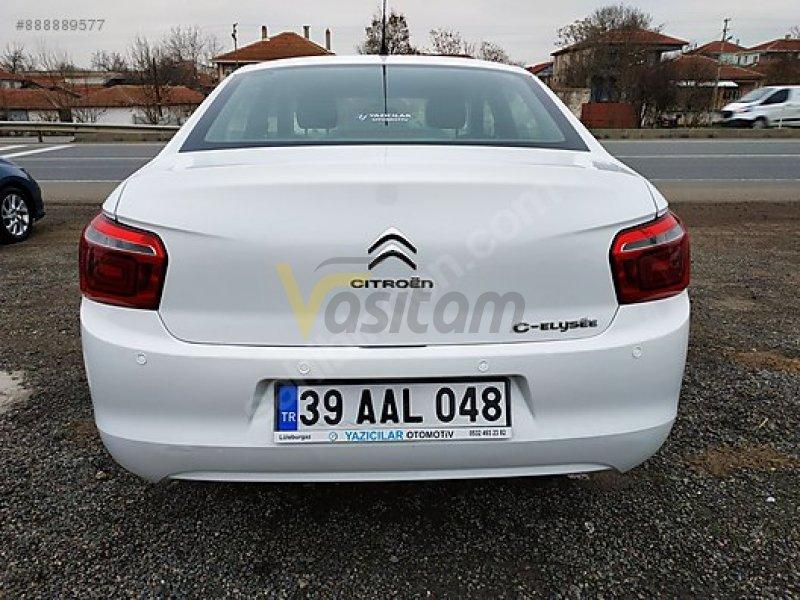 Taşıt\Otomobil\Citroën\C-Elysée