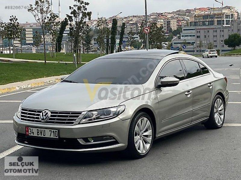 2015 VW CC 1.4 TSİ SPORTLİNE 160 PS CAM TAVAN VADE-TAKAS OLUR