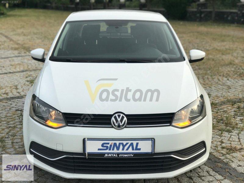 SİNYAL OTOMOTİVDEN 2015 MODEL VW POLO 1.2 TSİ 90 HP COMFORTLİNE