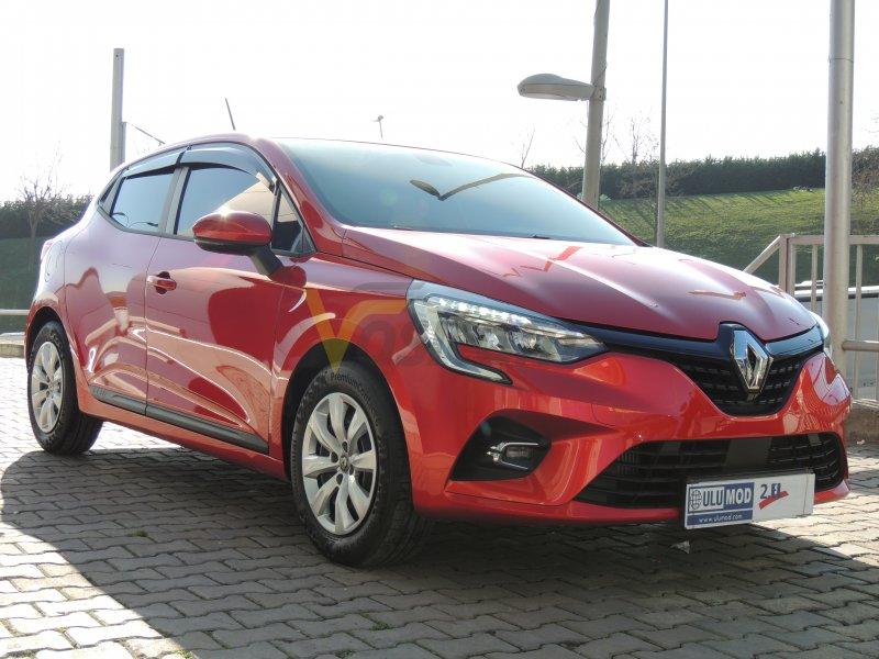 ULUBAŞLAR 2020 Clio 1.0 TCe Otomatik Hatasız Kırmızı + Görüş Pk.