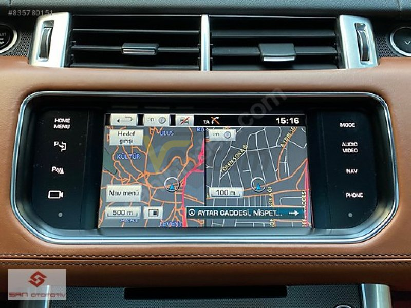 Taşıt\Arazi, SUV & Pick-up\Land Rover\Range Rover Sport