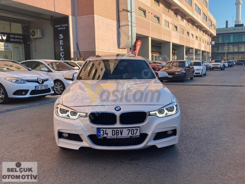 2017 MODEL BMW 3.18d M PLUS- BOYASIZ-NBT-HAFIZA- VADE-TAKAS OLUR